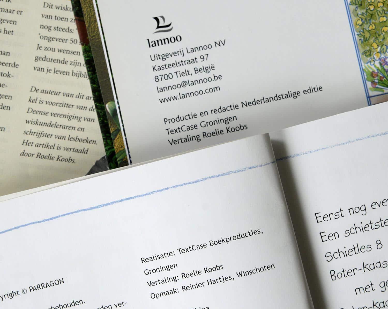 Publicaties vertalingen
